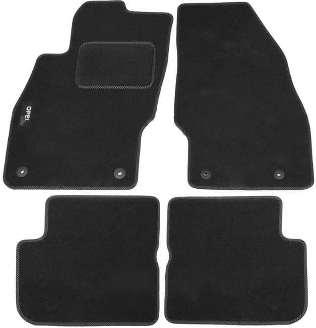 Ковры ворсовые для Opel Corsa D (06-11) Duomat