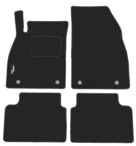 Ковры ворсовые для Opel Insignia (08-13) Duomat