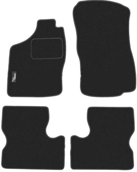 Ковры ворсовые для Opel Astra F (91-98) Duomat