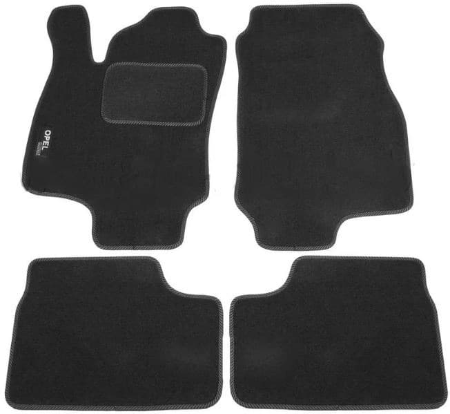 Ковры ворсовые для Opel Astra G (98-05) Duomat