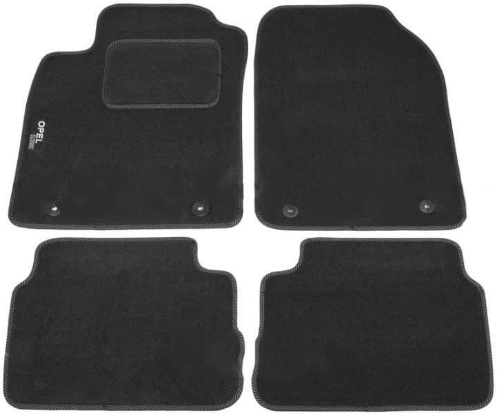 Ковры ворсовые для Opel Vectra C (02-09) Sed/Htb Duomat