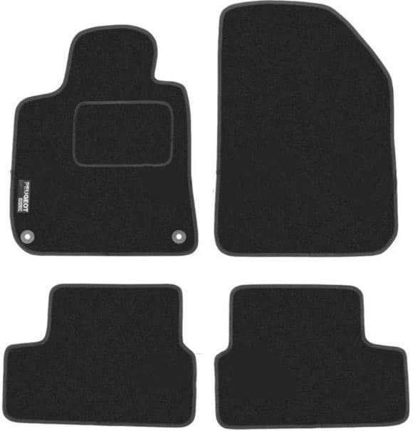 Ковры ворсовые для Peugeot 308 II (13-) Duomat