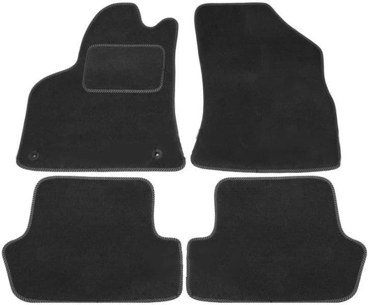 Ковры ворсовые для Peugeot 3008 (09-) Duomat