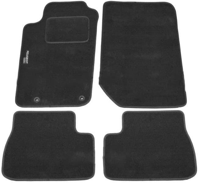 Ковры ворсовые для Peugeot 206 (98-12) Duomat