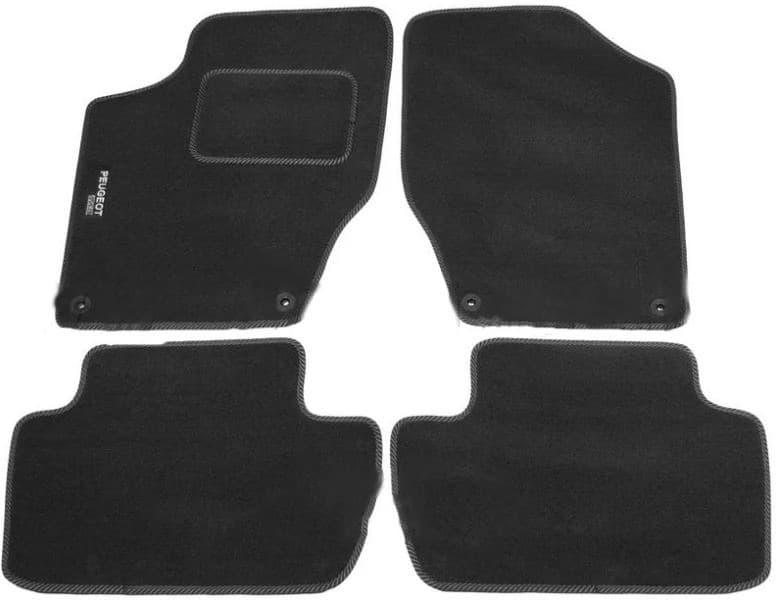 Ковры ворсовые для Peugeot 308 I (08-13) Duomat