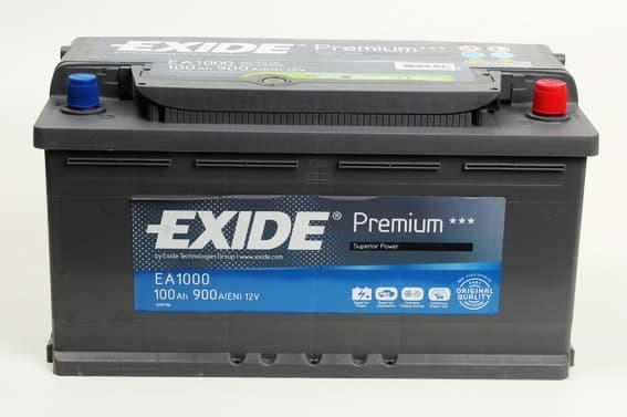 Аккумулятор Exide Premium EA1000 (100Ah)
