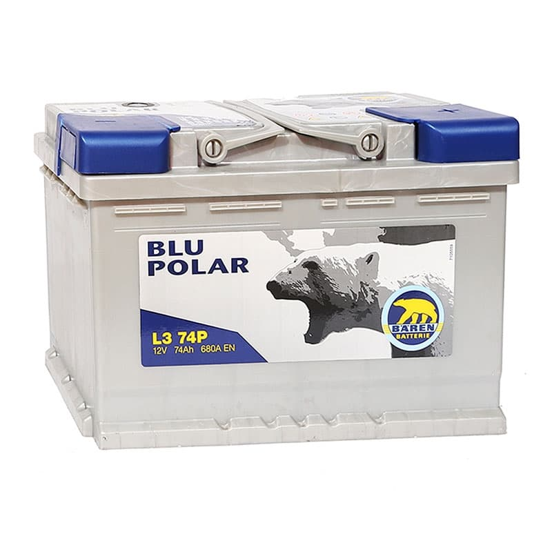 Аккумулятор Baren  Blu Polar (74 А/ч)