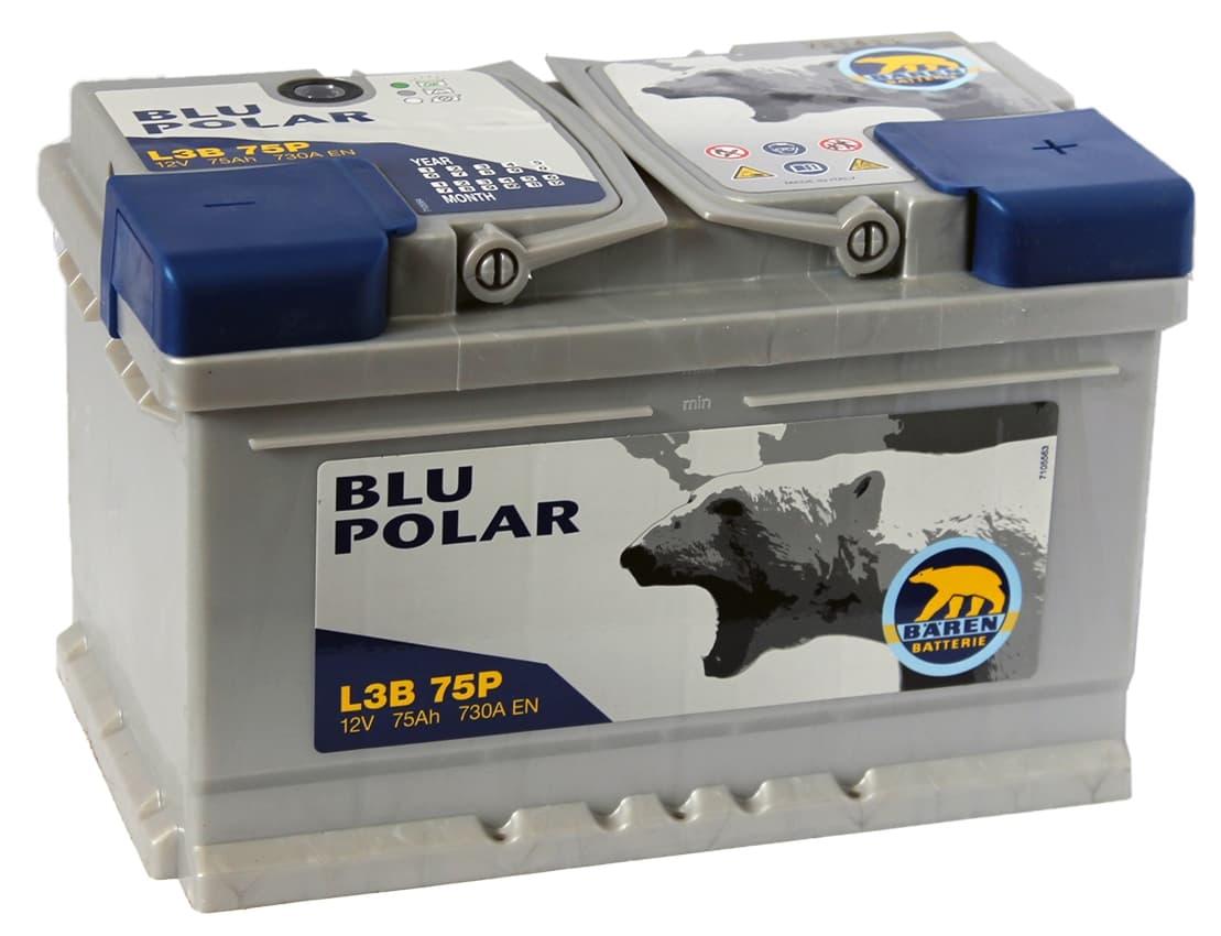 Аккумулятор Baren Blu Polar (75 А/ч)