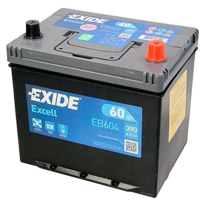 Аккумулятор Exide Excell EB604 (60Ah)