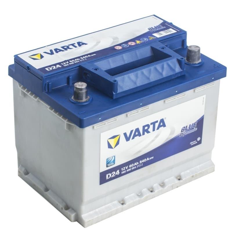 Аккумулятор Varta Blue Dynamic D24 (60 А/ч)