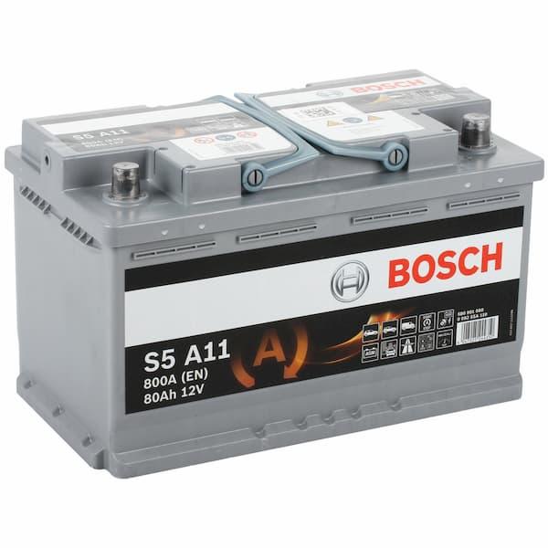 Аккумулятор Bosch S5 A11 580 901 080 (80 А/ч)