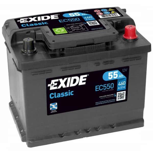 Аккумулятор Exide Classic EC550 (55 А/ч)
