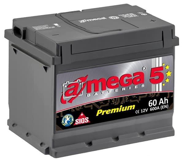 Аккумулятор A-Mega Premium R+ (60Ah)