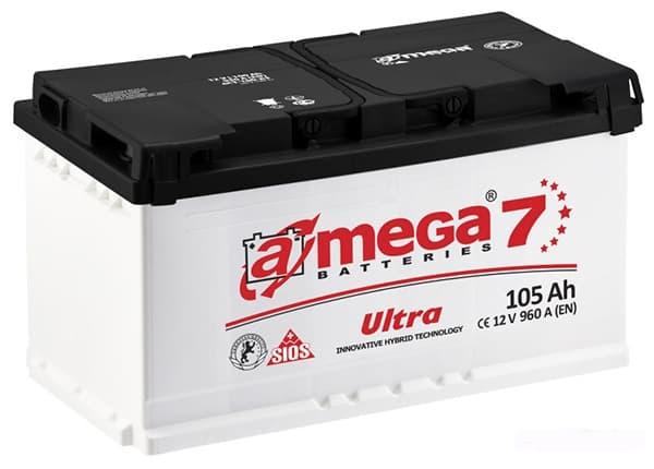 Аккумулятор A-Mega Ultra R+ (105Ah)