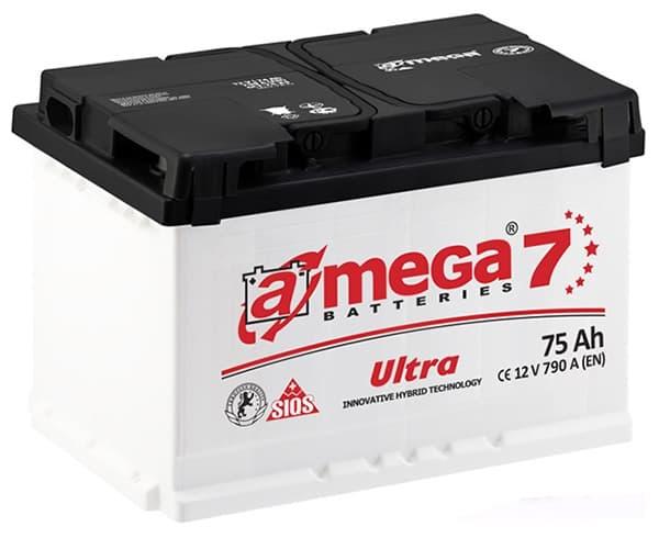 Аккумулятор A-Mega Ultra R+ (75Ah)