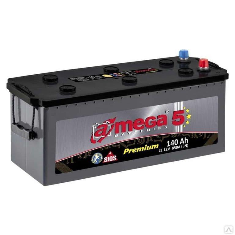 Аккумулятор A-Mega Premium (140Ah)
