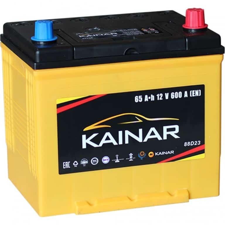 Аккумулятор Kainar Asia 65 JR+ (65 А/ч)
