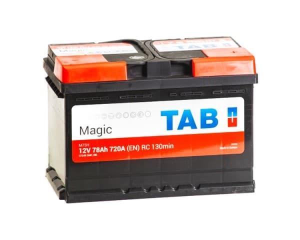 Аккумулятор TAB Magic 78 R (78 А/ч)