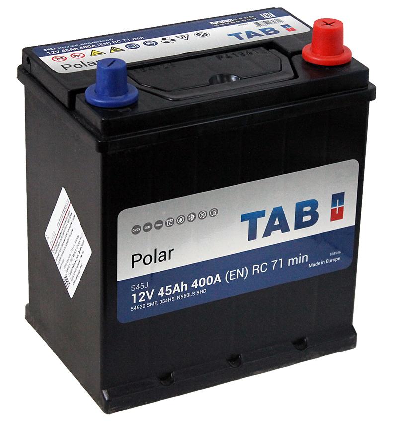 Аккумулятор TAB Polar S Asia 45 JL 246545 (45 А/ч)