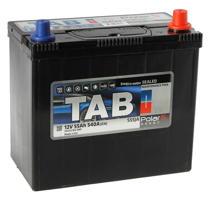 Аккумулятор TAB Polar S Asia 55 JR (55 А/ч)