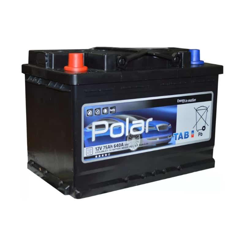 Аккумулятор TAB Polar S Asia 75 JR (75 А/ч)