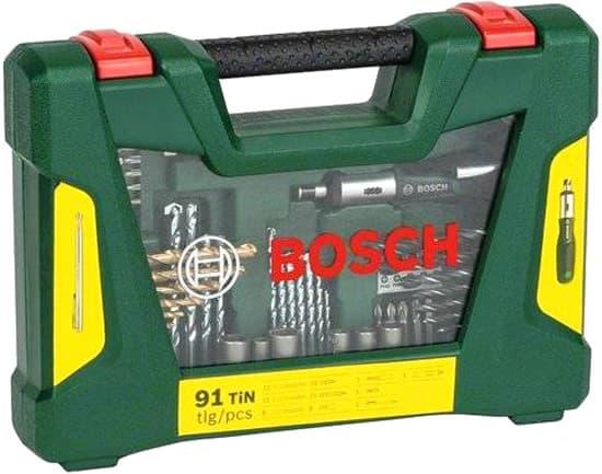 Набор оснастки Bosch 91 предмет 2607017311