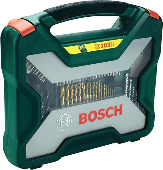 Набор оснастки Bosch X-Line Titanium 103 предмета 2607019331
