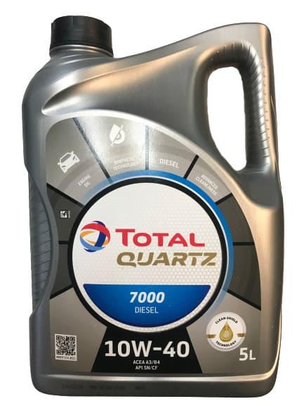 Моторное масло Total Quartz Diesel 7000 10W-40 5л