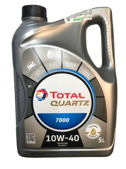 Моторное масло Total Quartz 7000 10W-40 5л