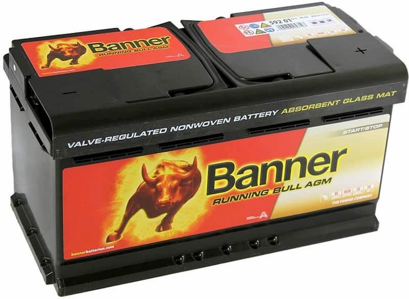 Аккумулятор Banner Running Bull AGM 592 01 (92 А·ч)