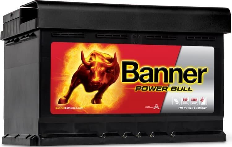 Аккумулятор Banner Power Bull P74 12 (74 А·ч)