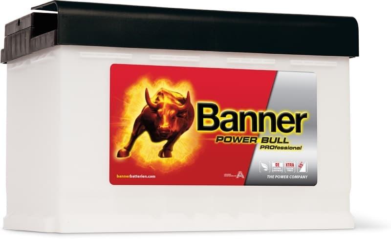 Аккумулятор Banner Power Bull PROfessional P77 40 (77А·ч)