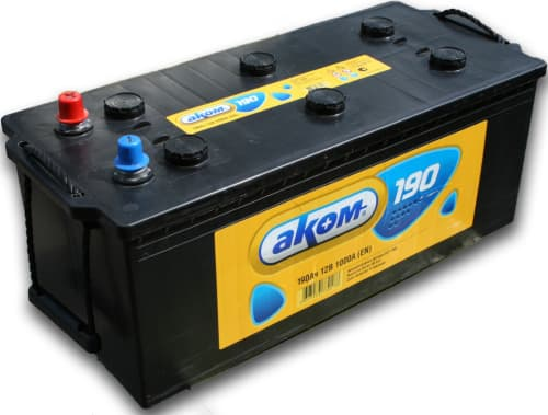 Аккумулятор Aком 6CT-190 евро (190 А/ч)