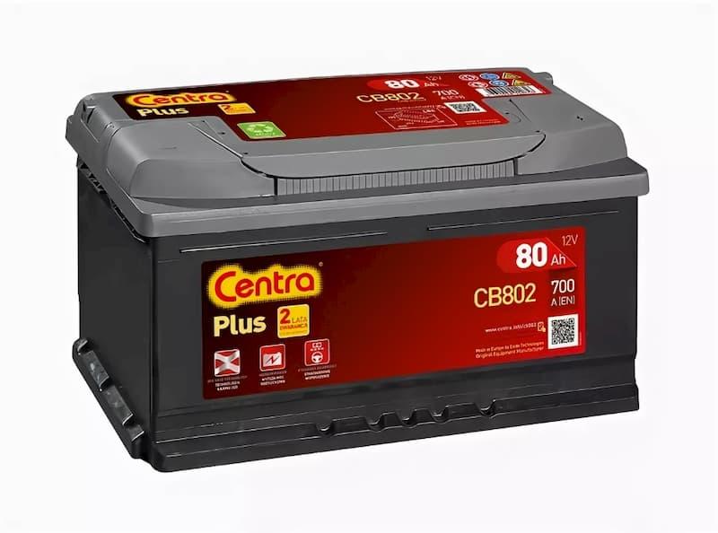 Аккумулятор Centra Plus CB802 (80 А/ч)