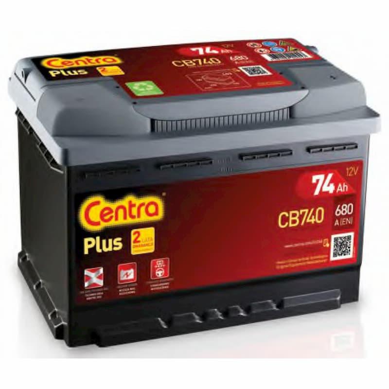 Аккумулятор Centra Plus CB740 (74 А/ч)