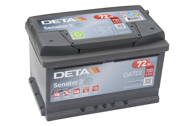 Аккумулятор Deta Senator3 DA722 (72 А·ч)