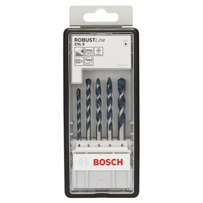 Набор оснастки Bosch 5 предметов 2608588165