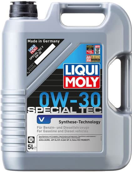 Моторное масло Liqui Moly Special V 0W-30 5л
