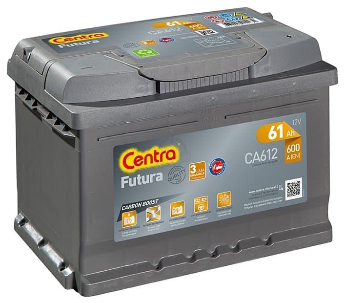 Аккумулятор Centra Futura CA612 (61 А/ч)