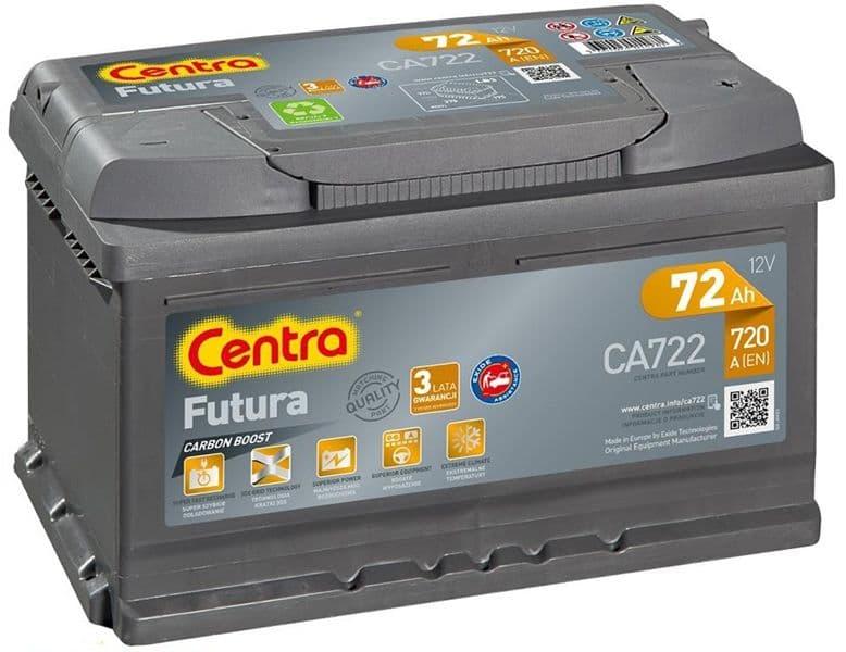 Аккумулятор Centra Futura CA722 (72 А/ч)