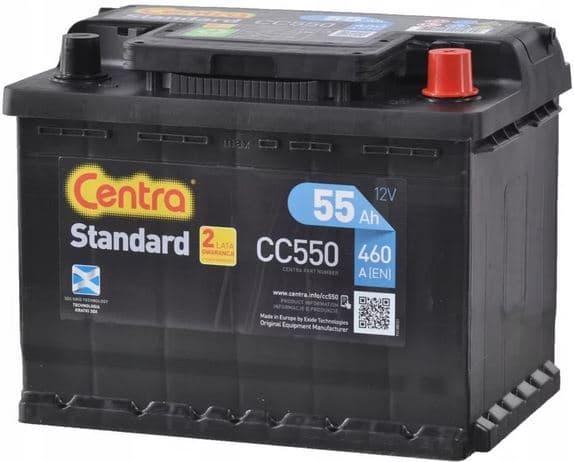 Аккумулятор Centra Standard CC550 (55 А/ч)