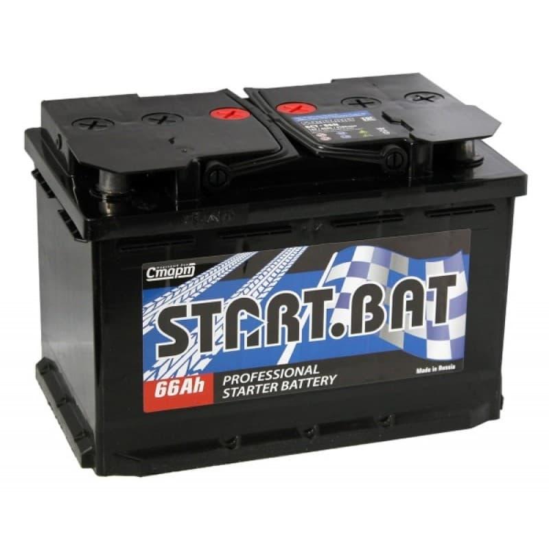 Аккумулятор СтартБат 6СТ-66е (66 А/ч)