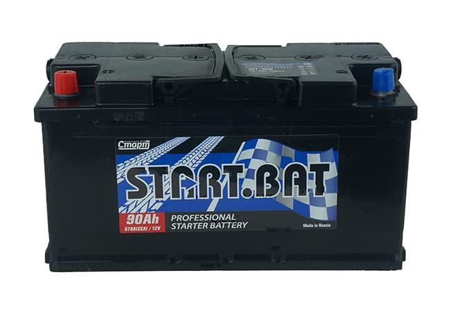 Аккумулятор СтартБат 6СТ-90 (90 А/ч)