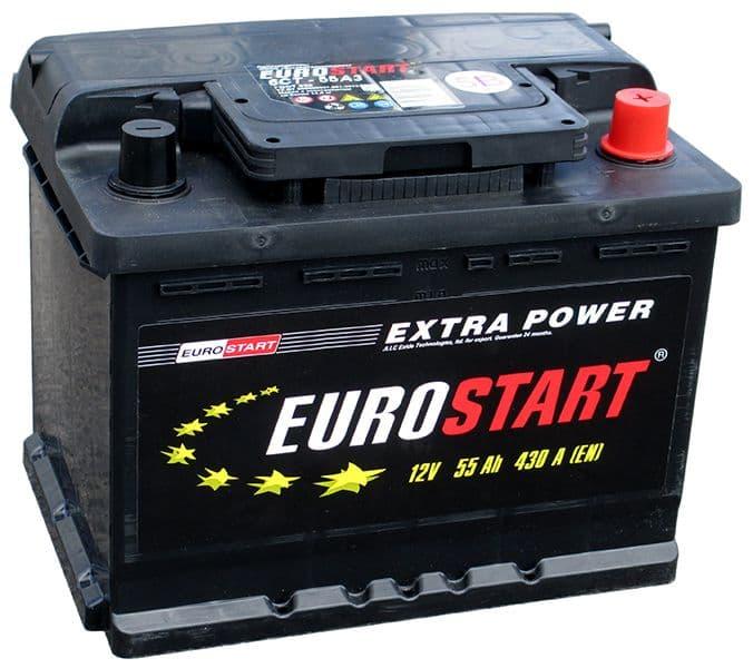 Аккумулятор Eurostart ES6 CT-55 (55 А/h)