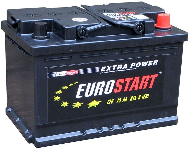 Аккумулятор Eurostart ES6 CT-75 (75 А/h)