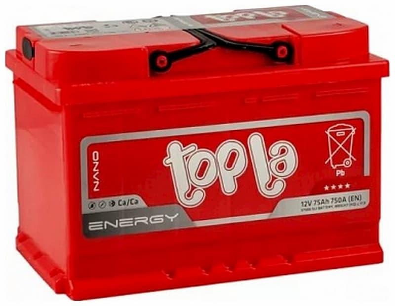 Аккумулятор Topla R+ 75 А/ч