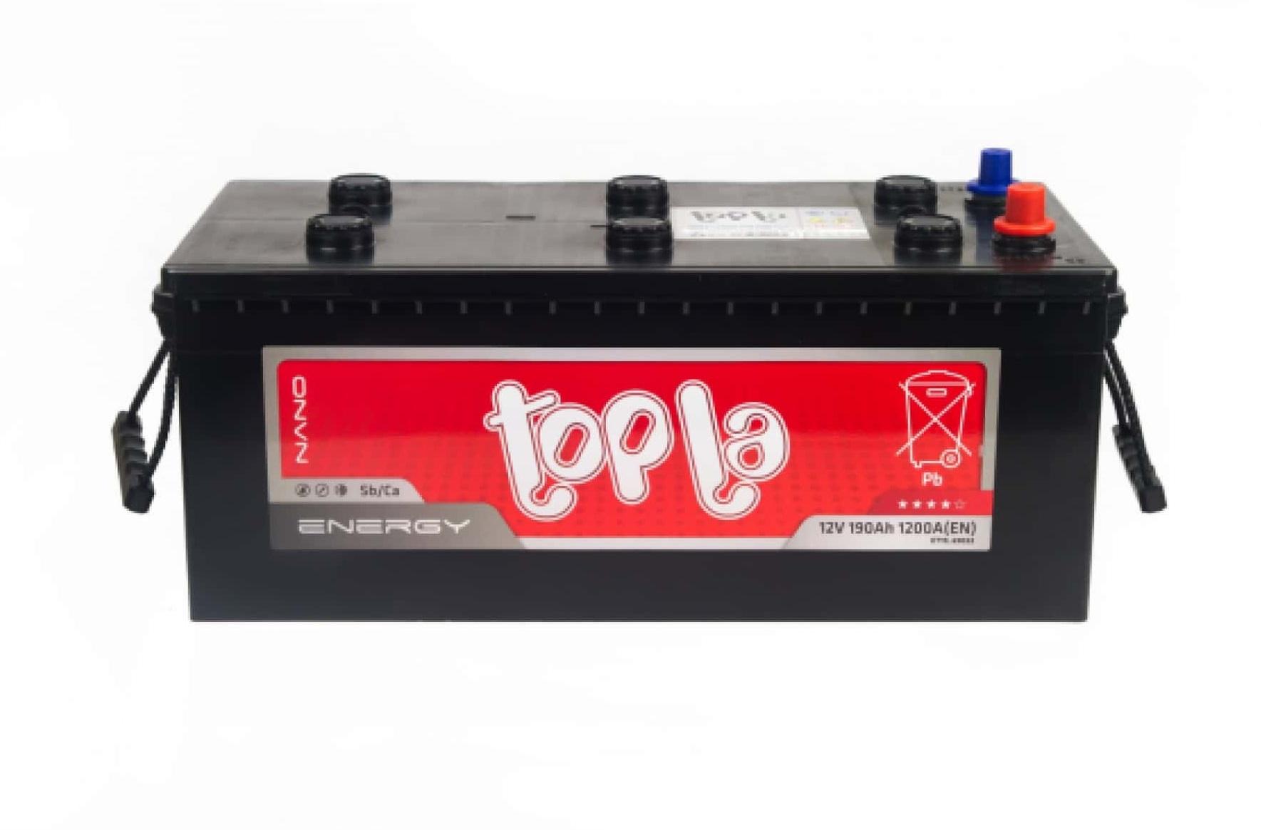 Аккумулятор Topla Energy Truck L+ 190 А/ч