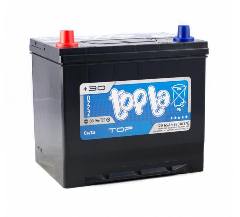 Аккумулятор TOPLA TOP Japan L+ 65 A/ч
