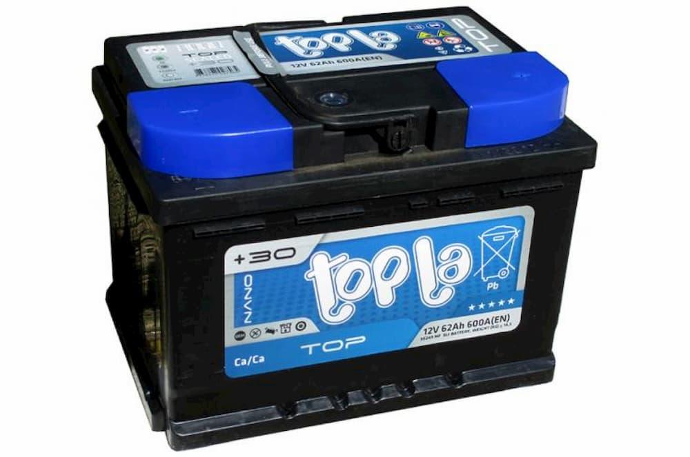 Аккумулятор Topla TOP R+  62 А/ч