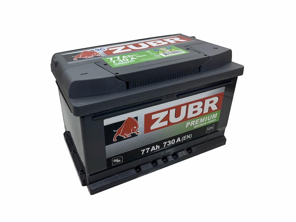 Аккумулятор Зубр Premium R+ (77Ah)